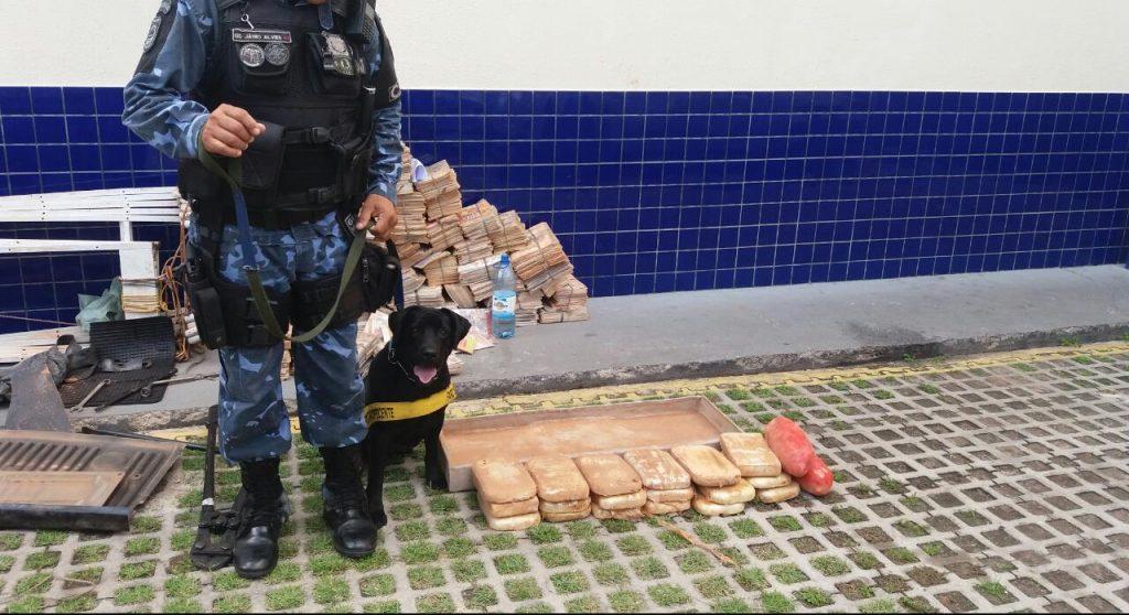 08.0818-Roma-News-Polícia-Civil-e-Guarda-Municipal-apreendem-drogas-em-veículo-vindo-da-Bolívia.