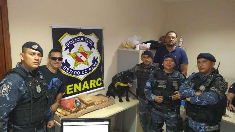 08.0818-Roma-News-Polícia-Civil-e-Guarda-Municipal-apreendem-drogas-em-veículo-vindo-da-Bolívia
