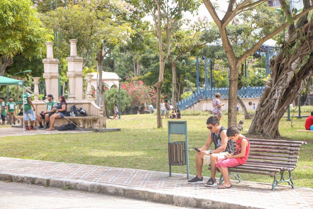 Dia dos pais / Praça da República