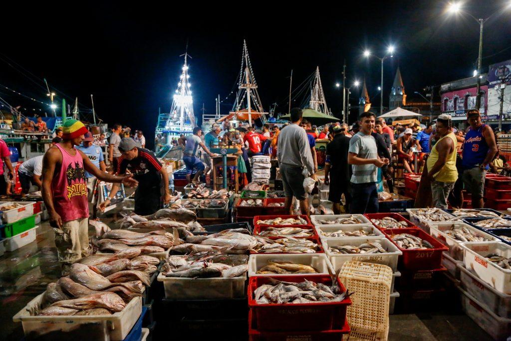 Comercialização do pescado na Pedra do Peixe no Ver-o-Peso