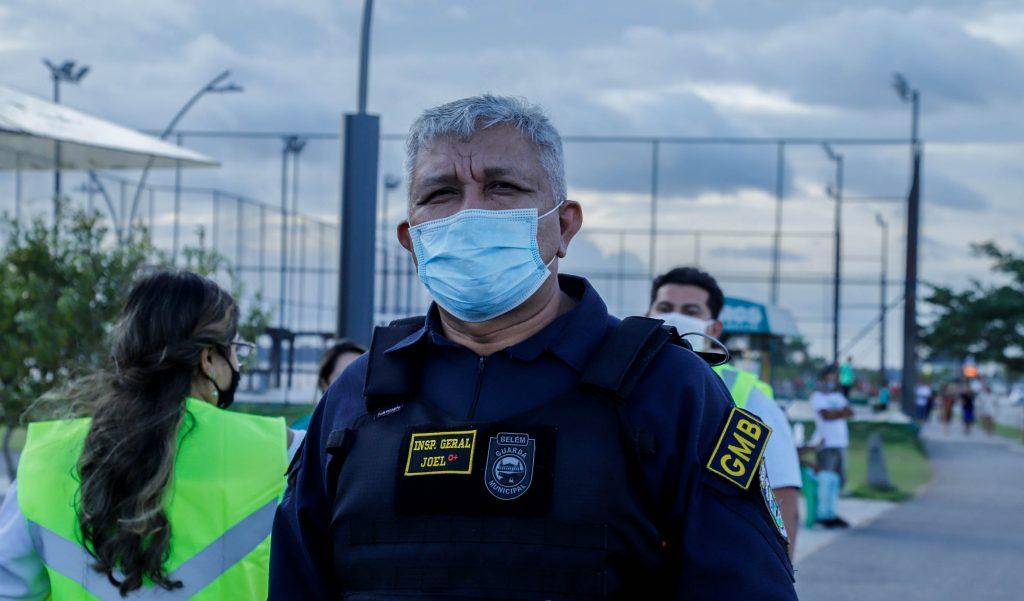 Comandante da GMB acompanhou a ação integrada na sexta-feira, em Belém