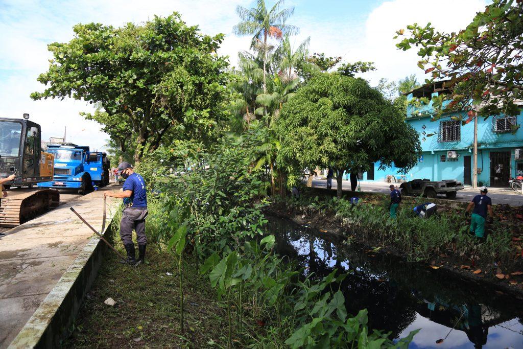 Belém Bem Cuidada atingiu várias áreas do conjunto Promorar.
