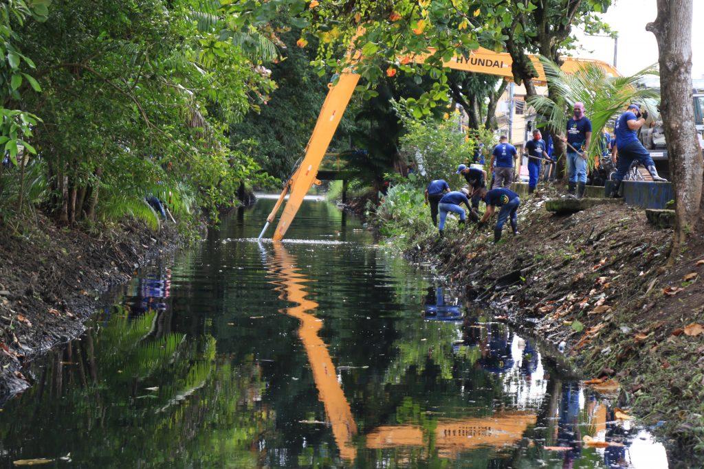 Canal do Promorar/Providência foi dragado para evitar transtorno igual ao que ocorreu no ano passado.