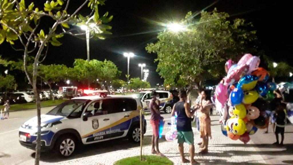 Praças de Belém também foram fiscalizadas pela GMB
