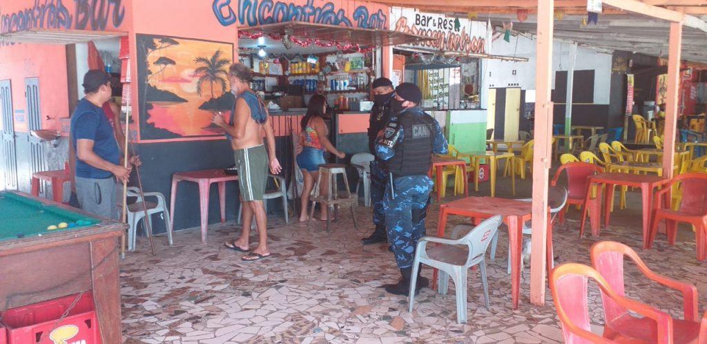 Proprietários de bares e restaurantes foram orientados a cumprir o decreto