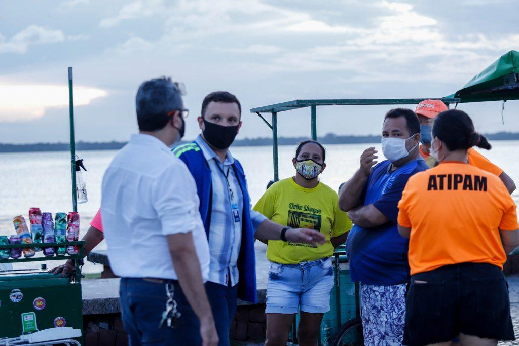 Representante da Organização Pública, Rafael Braga, participa da ação integrada em Belém