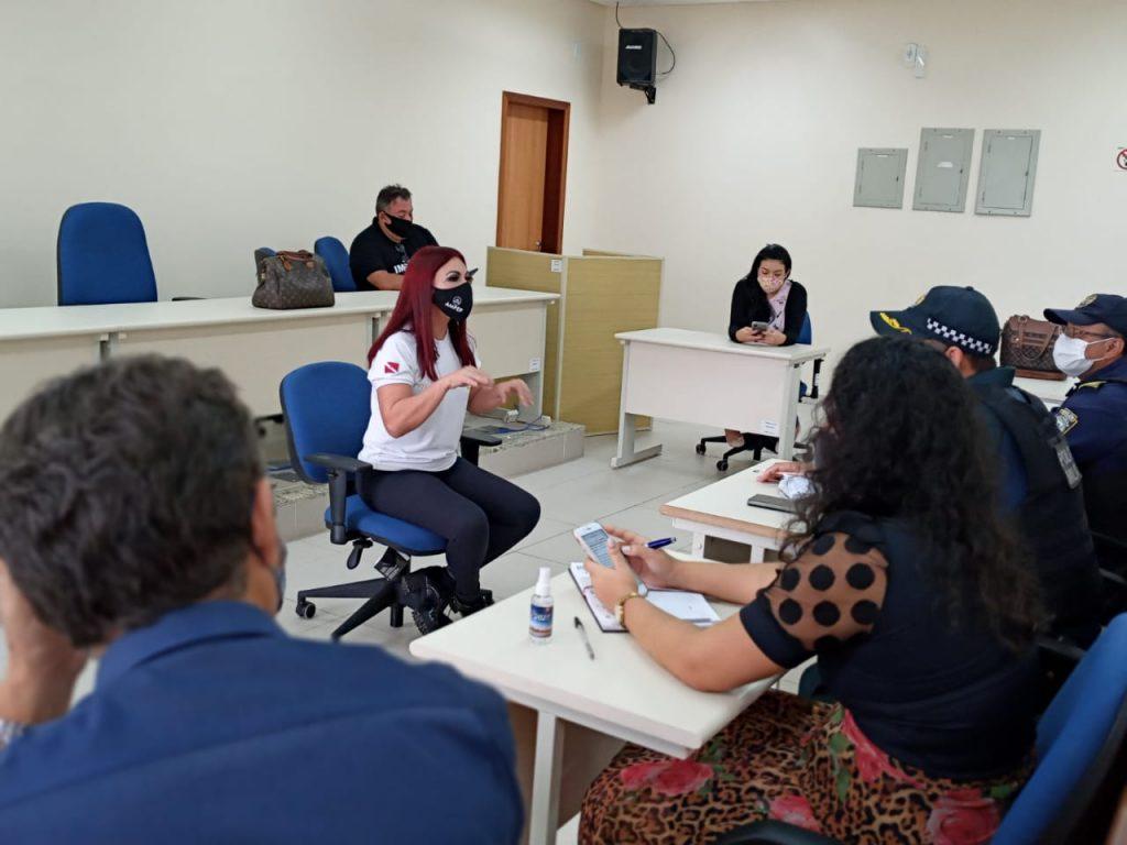 Reunião contou com Agência Distrital, MP e órgãos de segurança