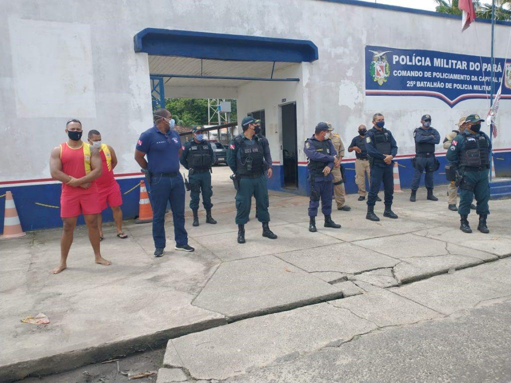 Polícia Militar e Corpo de Bombeiros também estão na Operação Semana Santa.