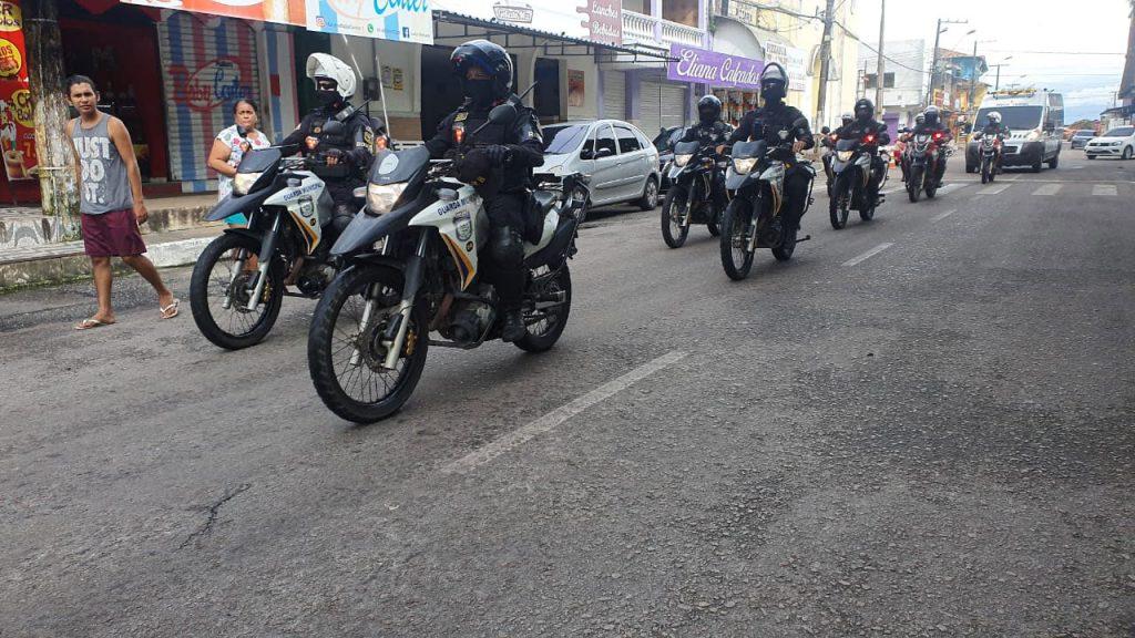 Motopatrulheiros fazem a ronda em Mosqueiro, a fim de garantir segurança aos visitantes e moradores