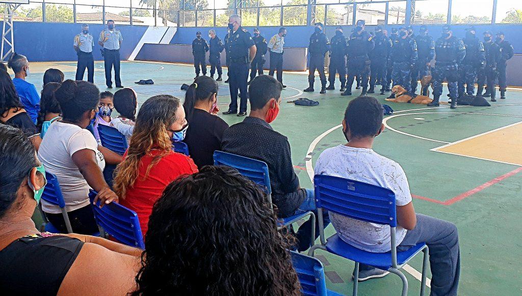 Durante o Verão Gente, a escola serviu como sede administrativa e dormitório dos agentes da GMB, deslocados para reforçar a segurança preventiva da ilha