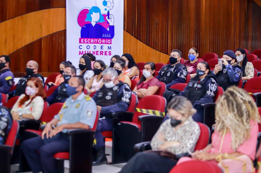 O evento foi organizado pelo Núcleo de Atenção à Guarda Feminina da corporação (NAGF)